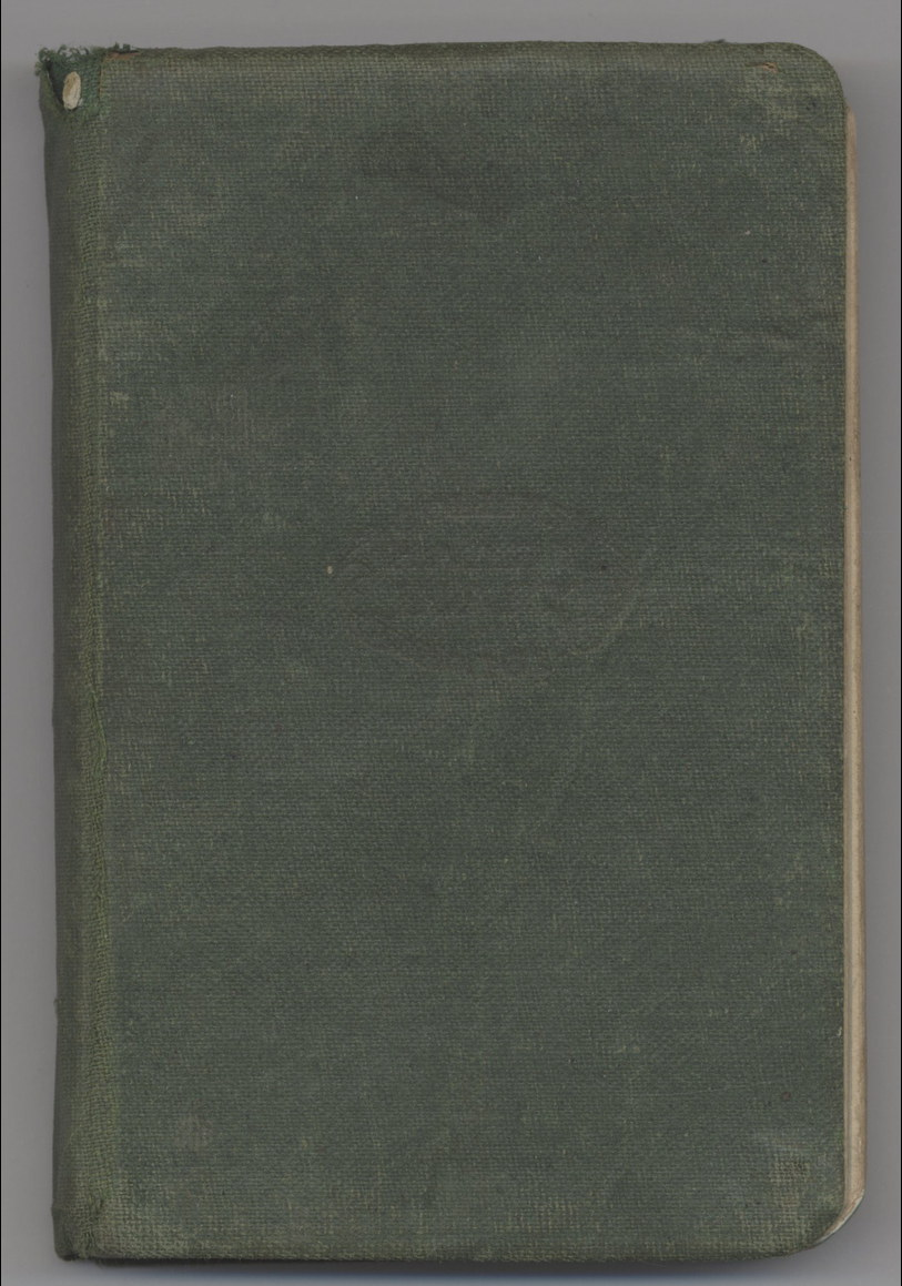 Diary of Gordon Colin Cooper 1917-1918