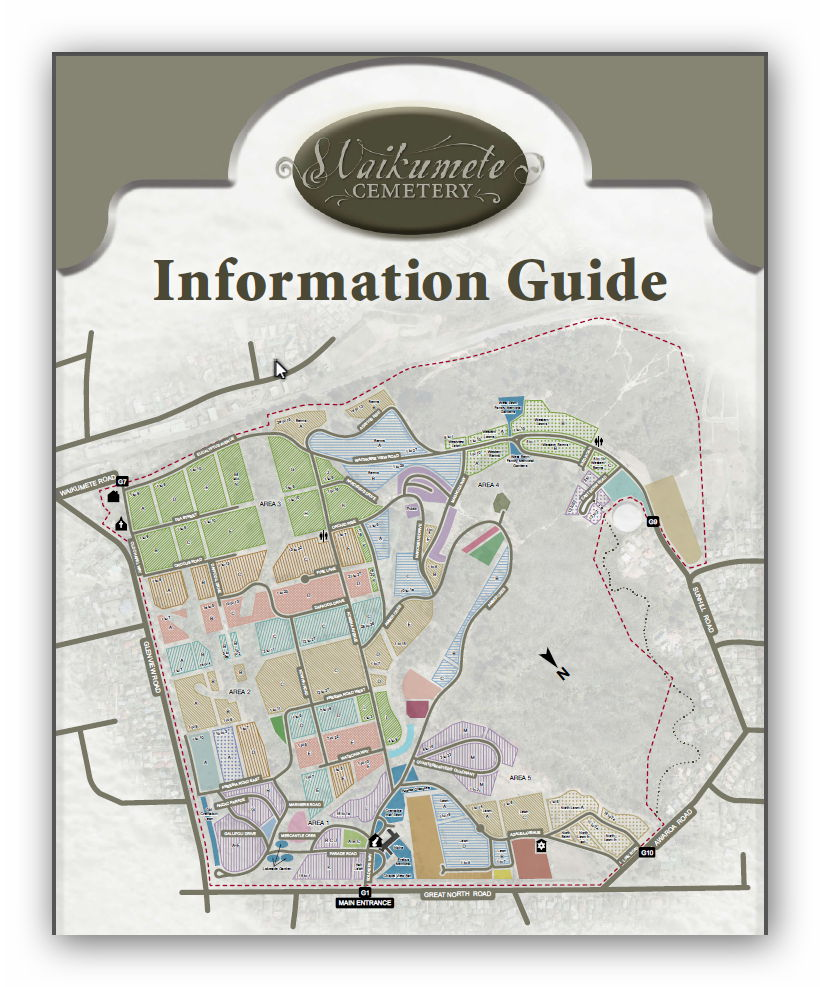 Waikumete Cemetery and Crematorium Map